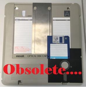 obsolete media