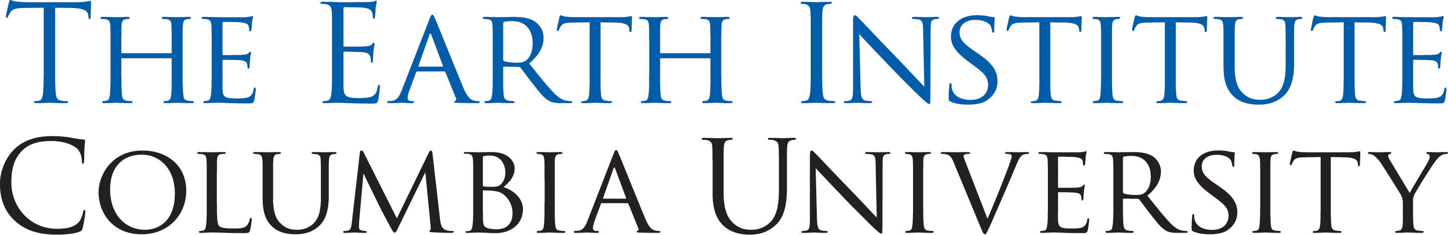 The Earth Institute Logo