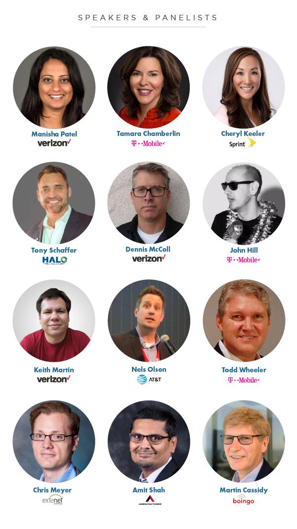 DASpedia 5G Forum Speakers