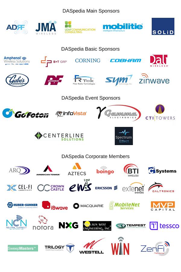 DASpedia TMO Sponsors