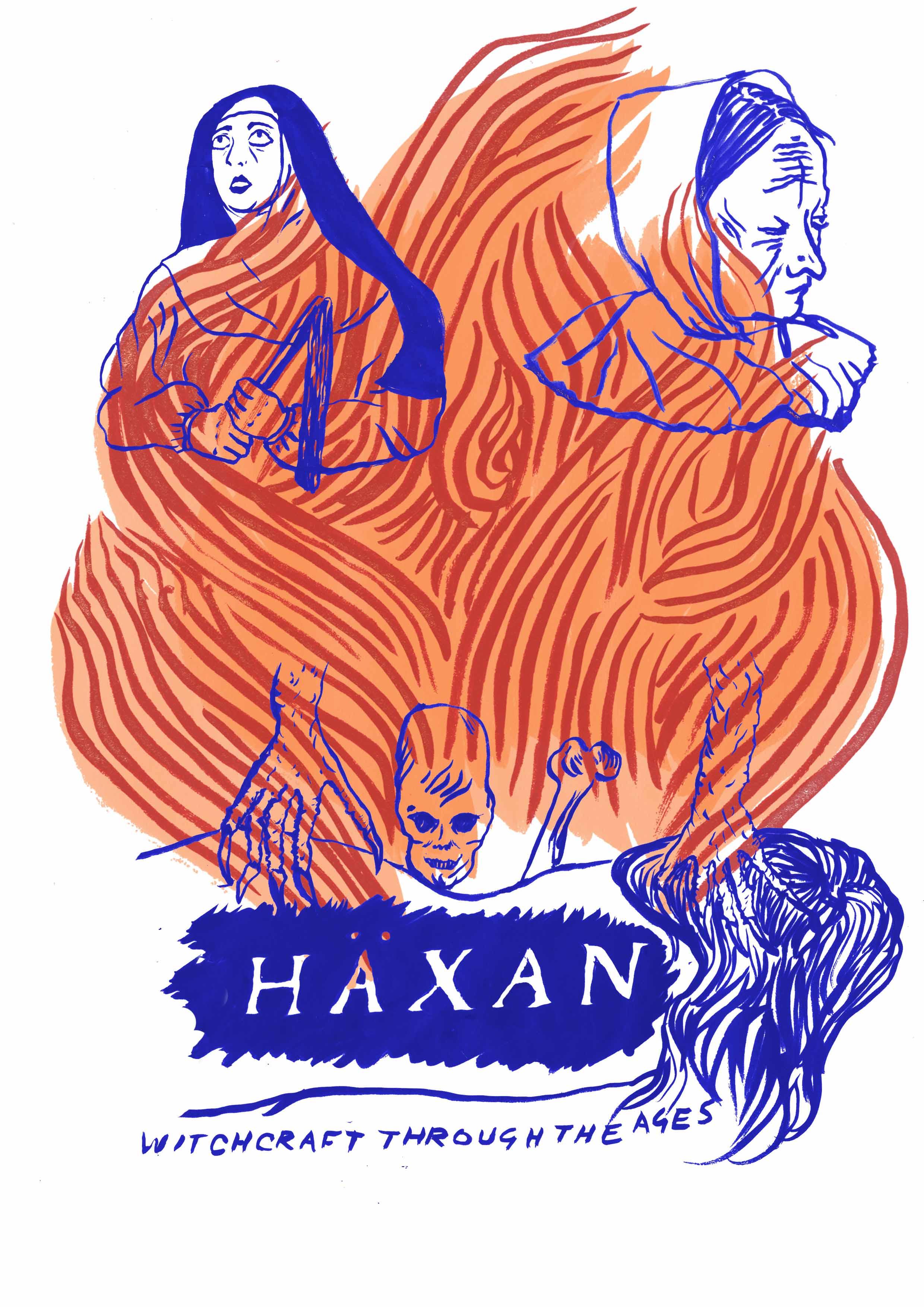 Haxan poster © Charlotte Procter charlotteprocter.tumblr.com