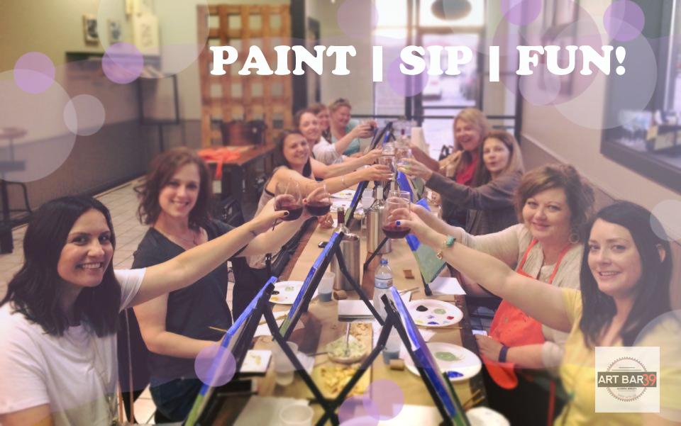 art bar 39 Paint Party