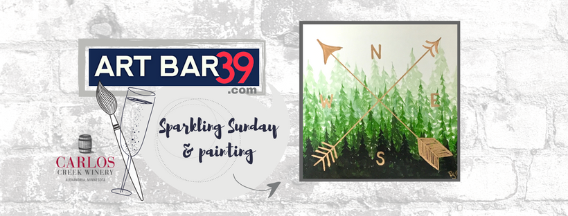 sparkling sunday art bar 39 carlos creek winery