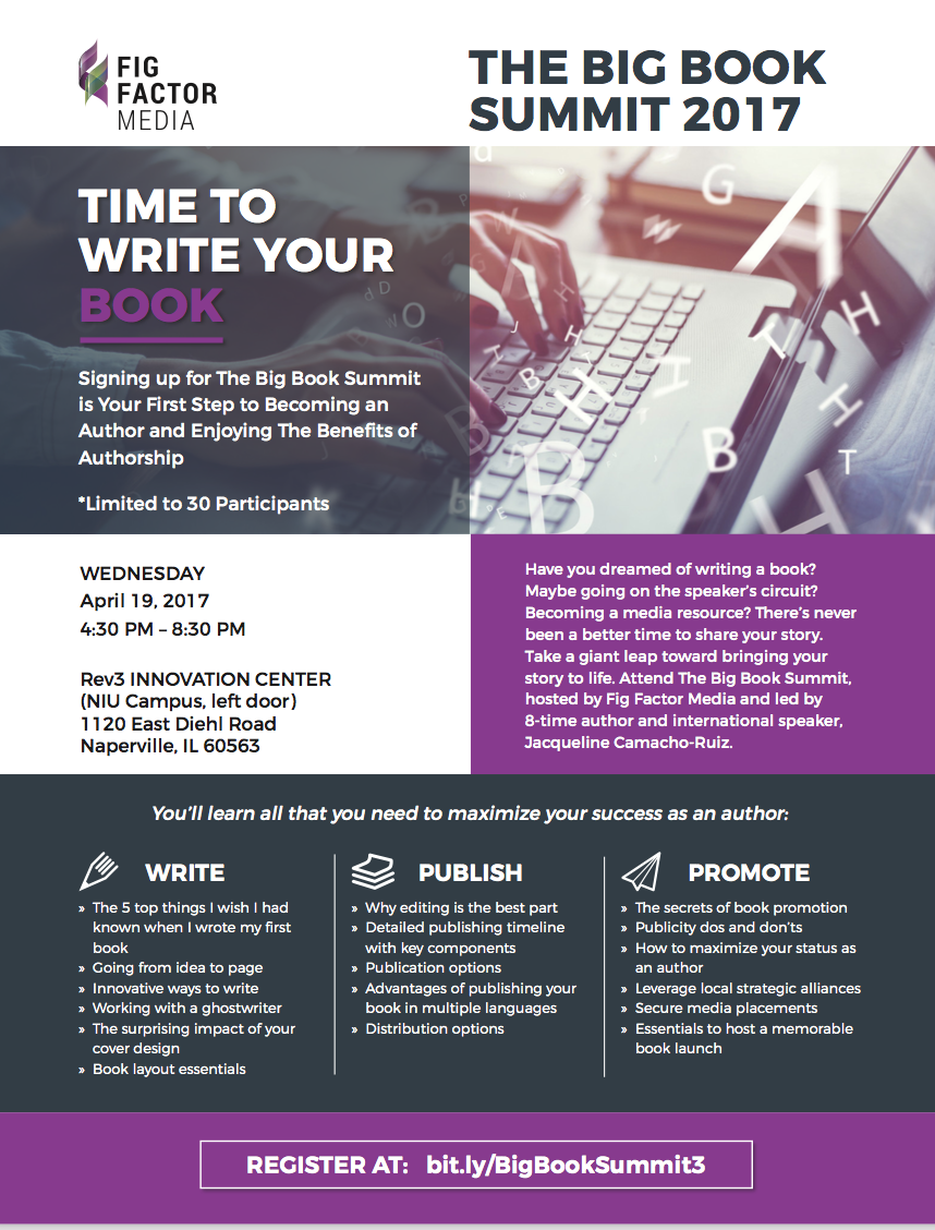 Book Launch Flyer with Details