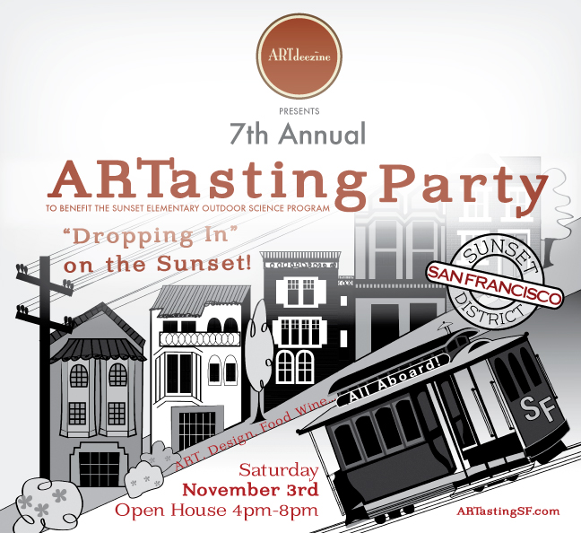 ARTdeezine Presents 7th Annual ARTasting Party to Benefit Sunset Elementary's Outdoor Science Program
