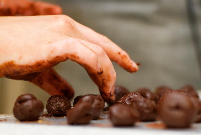 Chocolatey Chocolate making