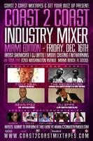 Coast 2 Coast Music Industry Mixer | Miami 12/16 Sobe Live