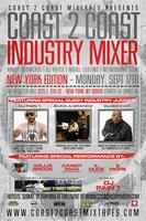 Coast 2 Coast Music Industry Mixer | NYC Edition - 9/17/12