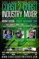 Coast 2 Coast Music Industry Mixer | Miami Edition -...