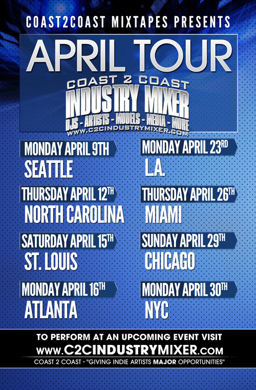 Coast 2 Coast Industry Mixer April Tour