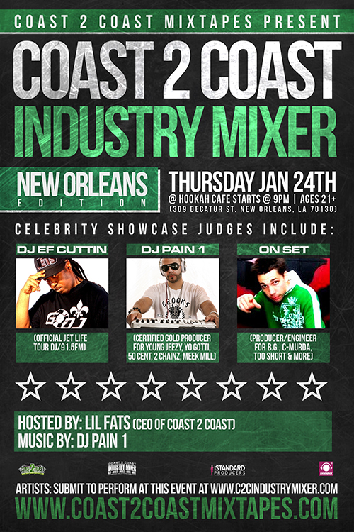 Coast 2 Coast Industry Mixer New Orleans Edition