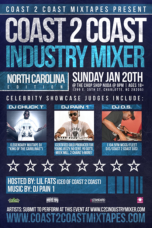 Coast 2 Coast Industry Mixer North Carolina Edition