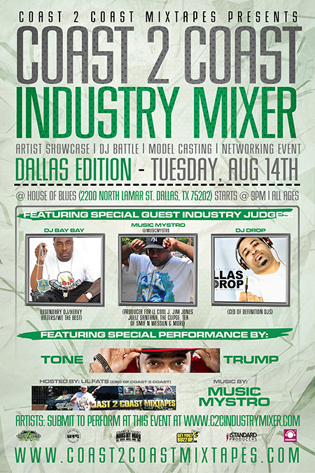 Coast 2 Coast Industry Mixer Dallas Edition