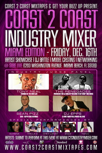 Coast 2 Coast Industry Mixer Miami
