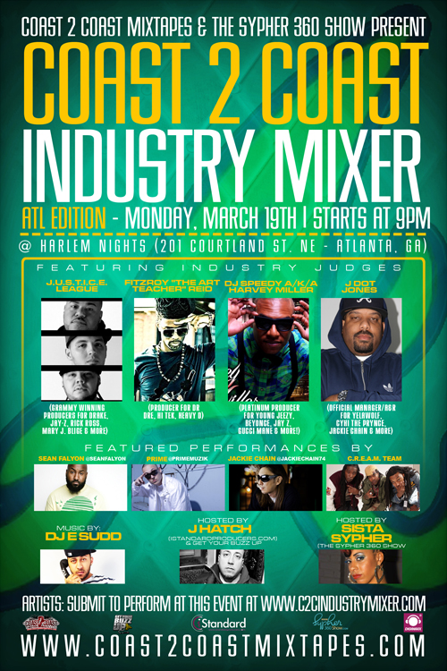 Coast 2 Coast Industry Mixer ATL