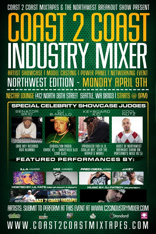 Coast 2 Coast Industry Mixer Northwest Edition