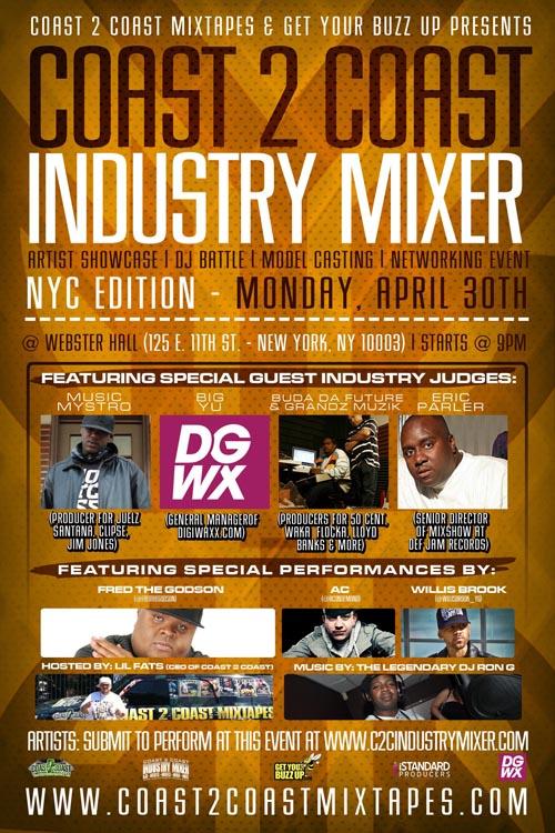 Coast 2 Coast Industry Mixer NYC Edition