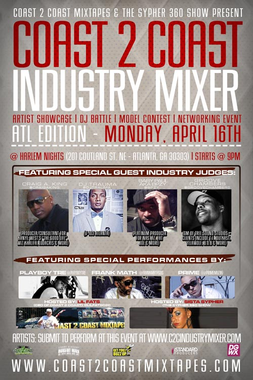 Coast 2 Coast Industry Mixer Atlanta Edition