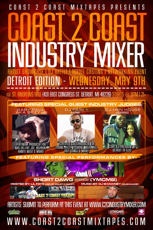 Coast 2 Coast Industry Mixer Detroit Edition
