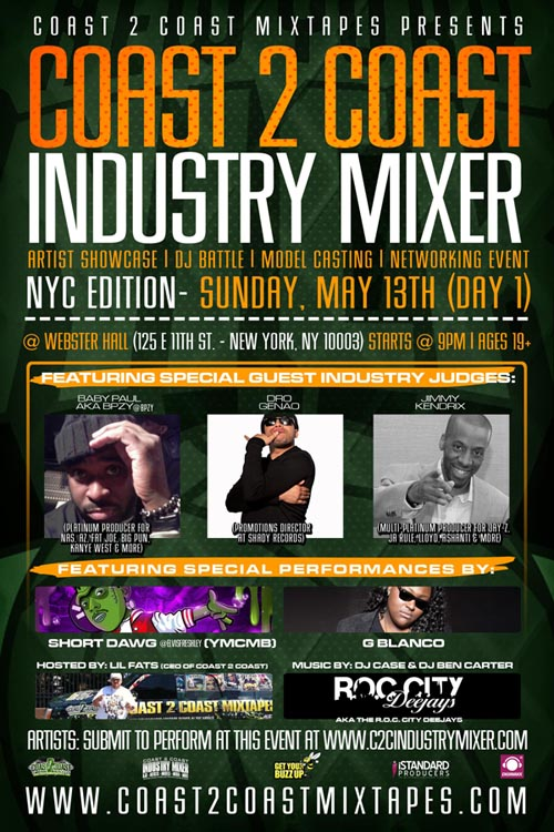 Coast 2 Coast Industry Mixer NYC
