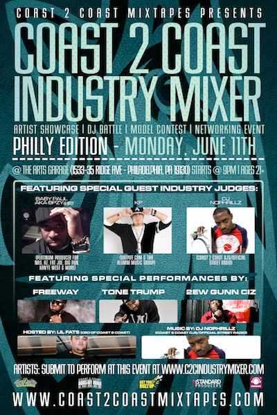 Coast 2 Coast Industry Mixer Philly Edition