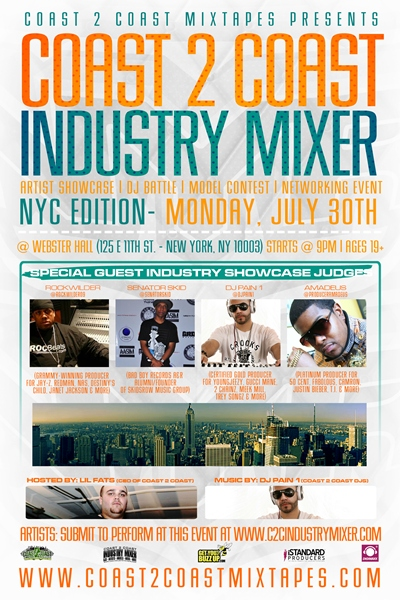 Coast 2 Coast Industry Mixer NYC Edition