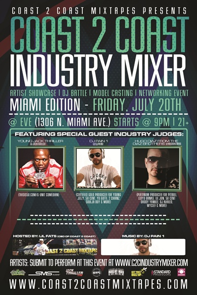 Coast 2 Coast Industry Mixer Miami Edition