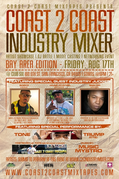 Coast 2 Coast Industry Mixer Bay Area Edition