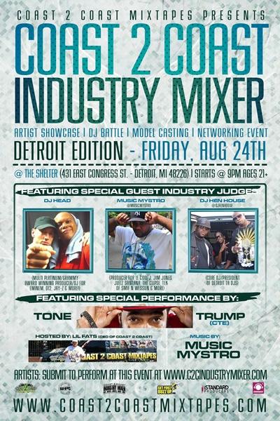 Coast 2 Coast Industry Mixer Detroit Edition