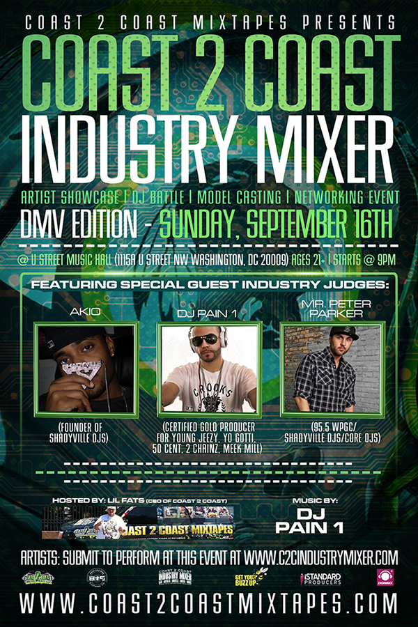 Coast 2 Coast Industry Mixer DMV Edition