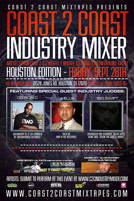 Coast 2 Coast Industry Mixer Houston Edition