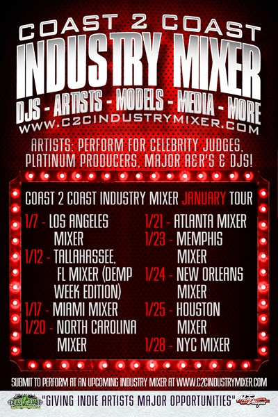 Coast 2 Coast Industry Mixer January Tour