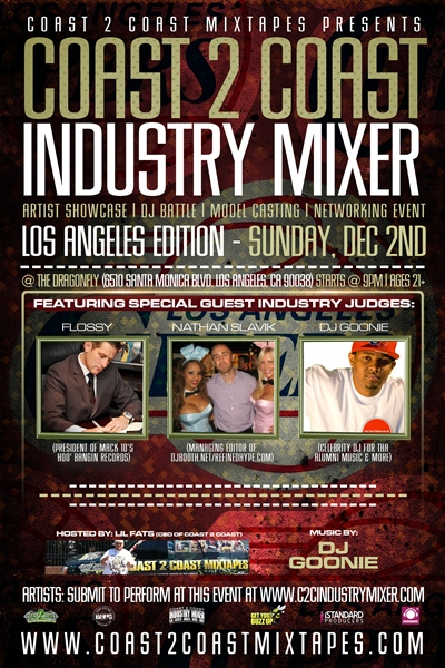 Coast 2 Coast Industry Mixer LA Edition