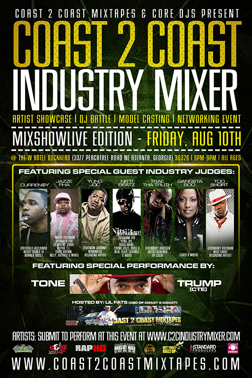 Coast 2 Coast Industry Mixer Atlanta Mixshow LIVE Edition