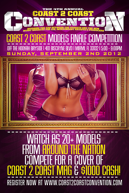 Coast 2 Coast Models Contest - Coast 2 Coast Convention 2012