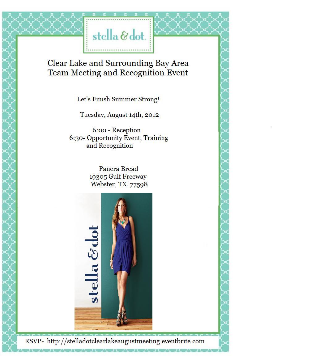 August Meeting Invite