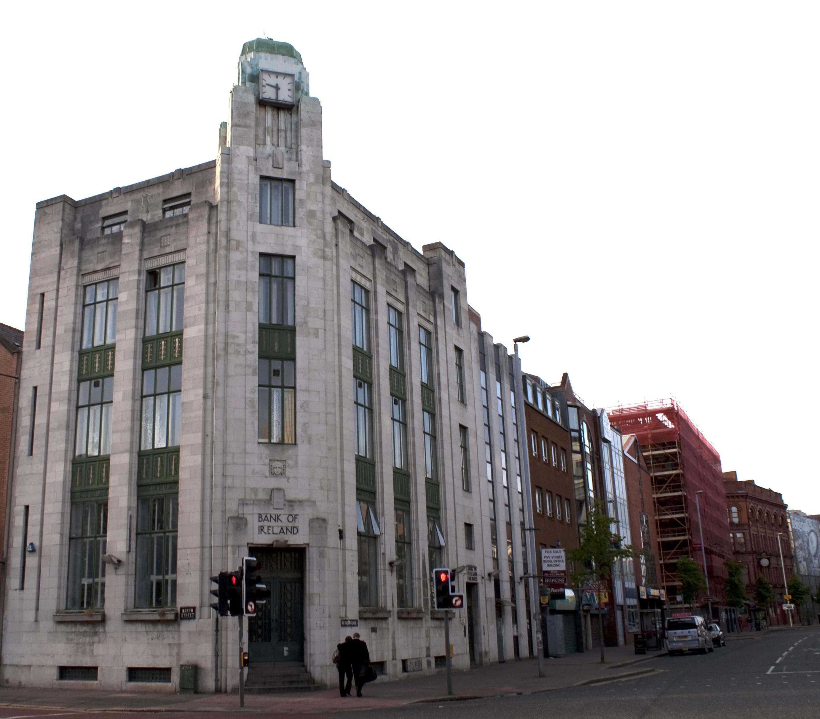 Art Deco Bank.The Death Of Art Deco In Belfast Ireland Smart Cities Dive