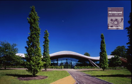 The Savill Grid Shell Building. Courtesy Glenn Howells Architects.