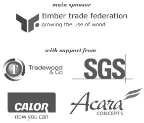 Main event sponsors: Timber Trade Federation