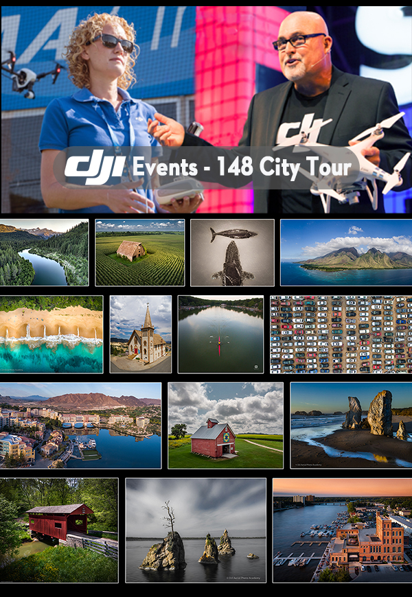 DJI Drone Photo Academy – Portland, Oregon Registration, Wed