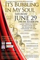 "ANNUAL HAMPTON ROADS EXCELLENCE GALA ""IT'S BUBBLING IN MY SOUL"""