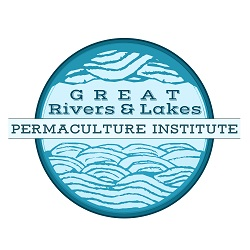 Logo for the Great Rivers and Lakes Permaculture Institute