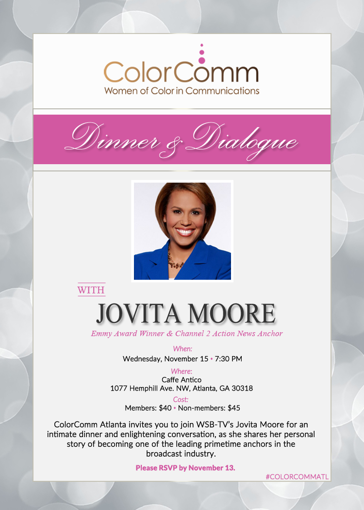 Dinner & Dialogue with Jovita Moore