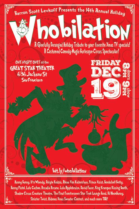 Whobilation Flyer