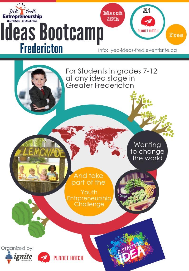 YEC Ideas Bootcamp Fredericton
