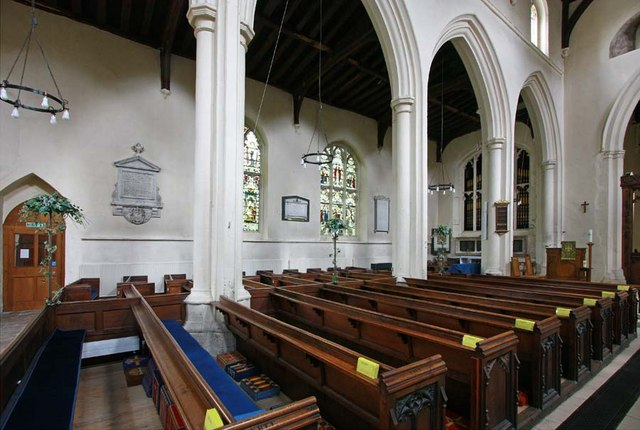 The Interior of St Mary's