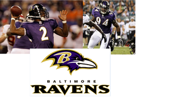 Baltimore RAVENS Tyrod Taylor and Sergio Kindle Autograph...