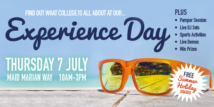 Experience Day - Start your journey now!