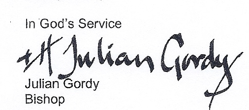 Bishop Gordy Signature