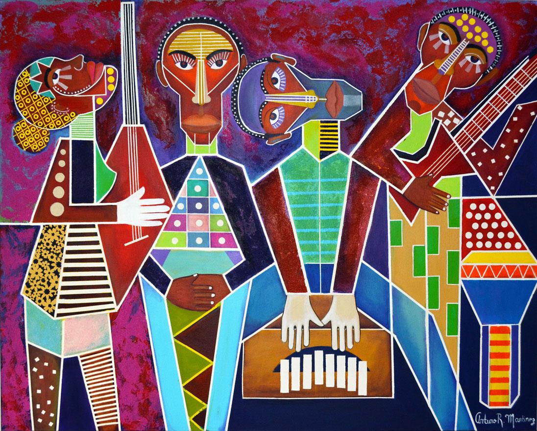Artwork by Arturo Martinez